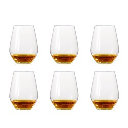 Spiegelau Authentis Casual 6 Piece All Purpose Tumbler Glass Set 460ml