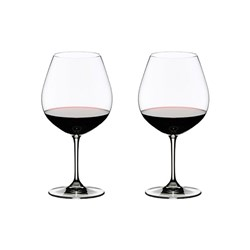 Riedel Vinum 2 Piece Crystal Pinot Noir Glass Set 700ml