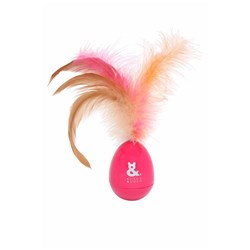 Rufus & Coco Rocking Feathers Cat Toy Pink