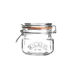 Kilner Square Clip Top Jar 500ml