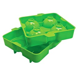 Vin Bouquet 5.5cm Sphere Silicone Ice Tray Green