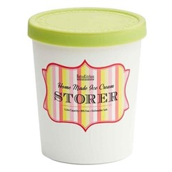 RetroKitchen Ice Cream Storer 1L Mint