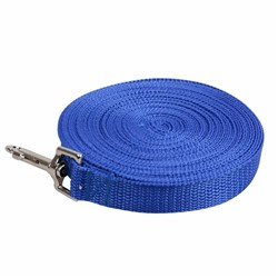 Beau Pets Training & Behavioural Webbing Dog Lead Blue 10m