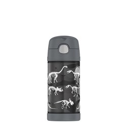 Thermos FUNtainer Stainless Steel Vacuum Insulated Drink Bottle 355ml Dinosaurs
