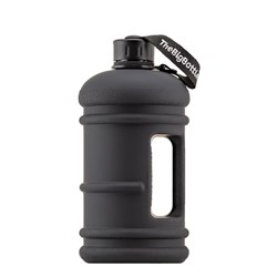 The Big Bottle Co Plastic Water Bottle 1.5L Jet Black