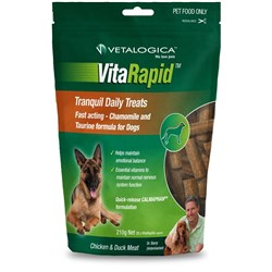 Vetalogica Vitarapid Tranquil Dog Treat 210g