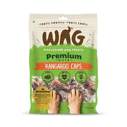 WAG Kangaroo Caps Dog Treat 200g
