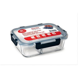 Pyrex Meal Prep 1L Rectangular Duo Divided Food Container