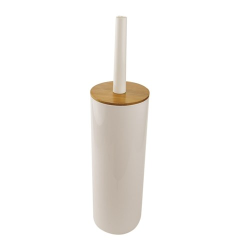 Butlers Bamboo Toilet Brush White
