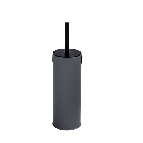 Butlers Toilet Brush with Child Lock Charcoal