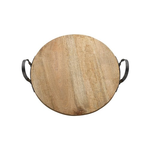 Ecology Arcadian Round Mango Wood Centrepiece Serving Board 50cm