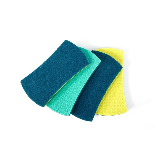 Full Circle Counter Scrubbers Set of 4
