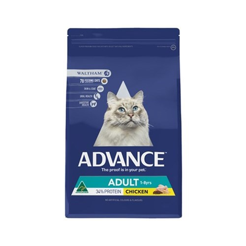 Advance Total Wellbeing Adult Cat Food 3kg Chicken