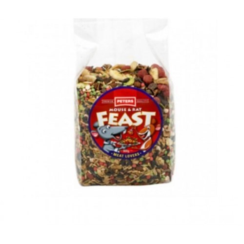 Peters Mouse  Rat Feast Meat Lovers 800g