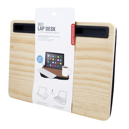 Kikkerland iBed iPad Lap Desk Wood