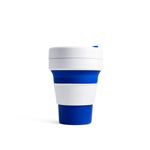 Stojo Pocket Cup 335ml Blue