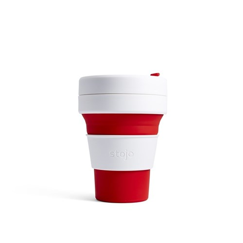 Stojo Pocket Cup 335ml Red