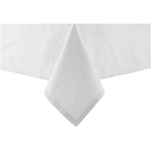 Ladelle Base Tablecloth 2.65m White