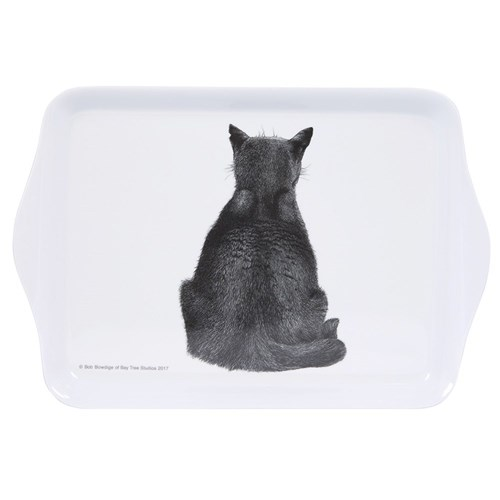 Ashdene Casual Cats Collection Watching Cat Scatter Serving Tray