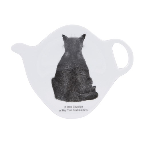 Ashdene Casual Cats Collection Watching Cat Tea Bag Holder