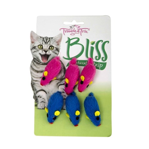 Trouble  Trix Bliss Mice 6 Pack