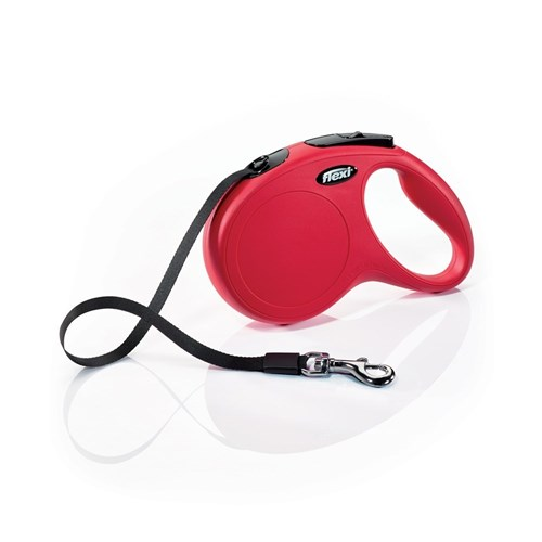 Flexi Retractable 5M Dog Lead Classic Tape Red Large