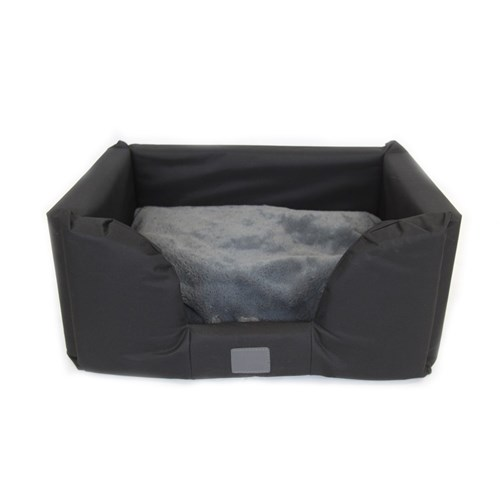 T  S Jackaroo Black Dog Bed Medium