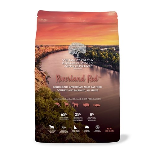 Vetalogica Biologically Appropriate Riverland Red Cat Food 3kg