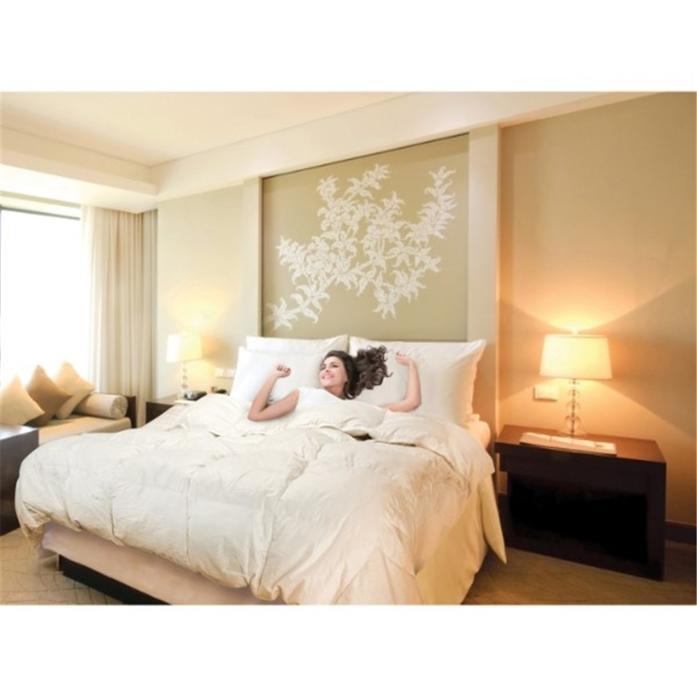 Royal Comfort Goose Feather & Down Quilt Single 500GSM
