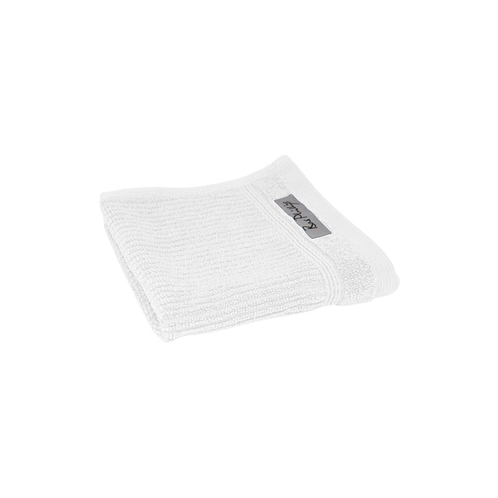Bas Phillips Cairo White Egyptian Cotton Face Washer