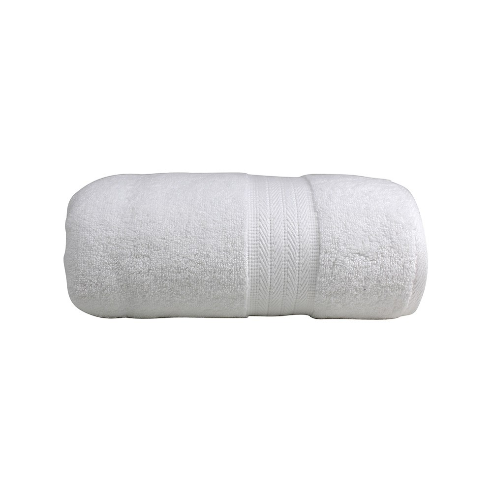 Odyssey Living Bondi Cotton Bath Towel White