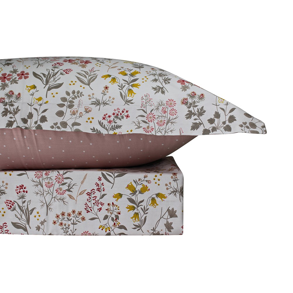 Odyssey Living Imogen Cotton Quilt Cover Set Queen
