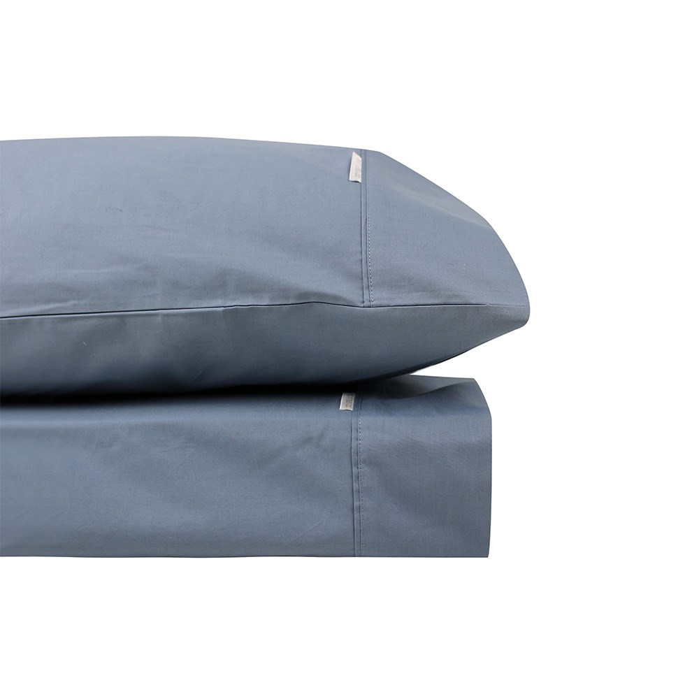 Odyssey Living Breathe Cotton King Single Sheet Set - Mercury