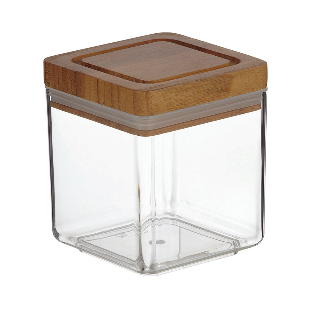 Davis & Waddell Square Acrylic Canister 1L