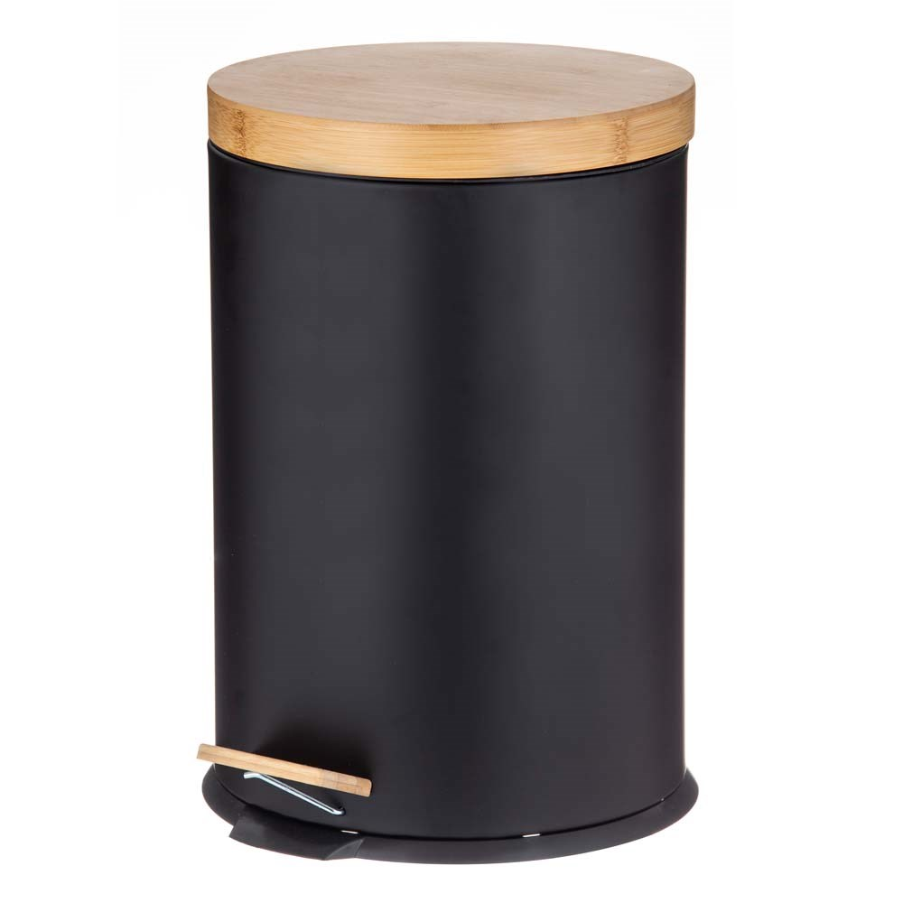 Davis & Waddell Newson Step Can with Bamboo Lid 20L