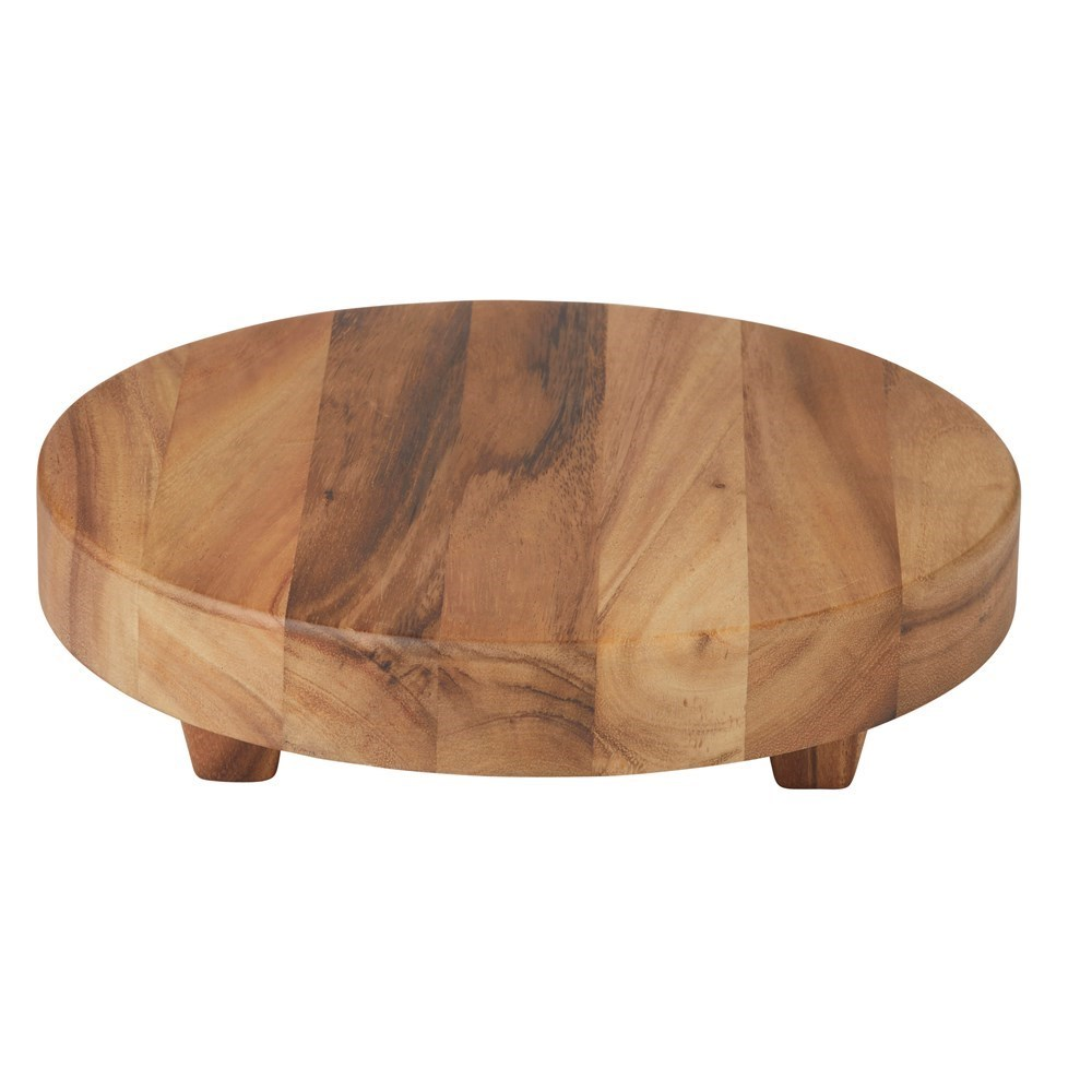 Davis & Waddell Arden Acacia Round Board with Feet
