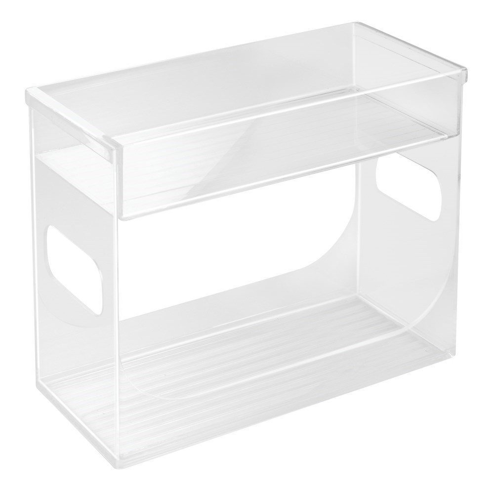Interdesign Binz Cabinet Spice Rack Organiser Clear
