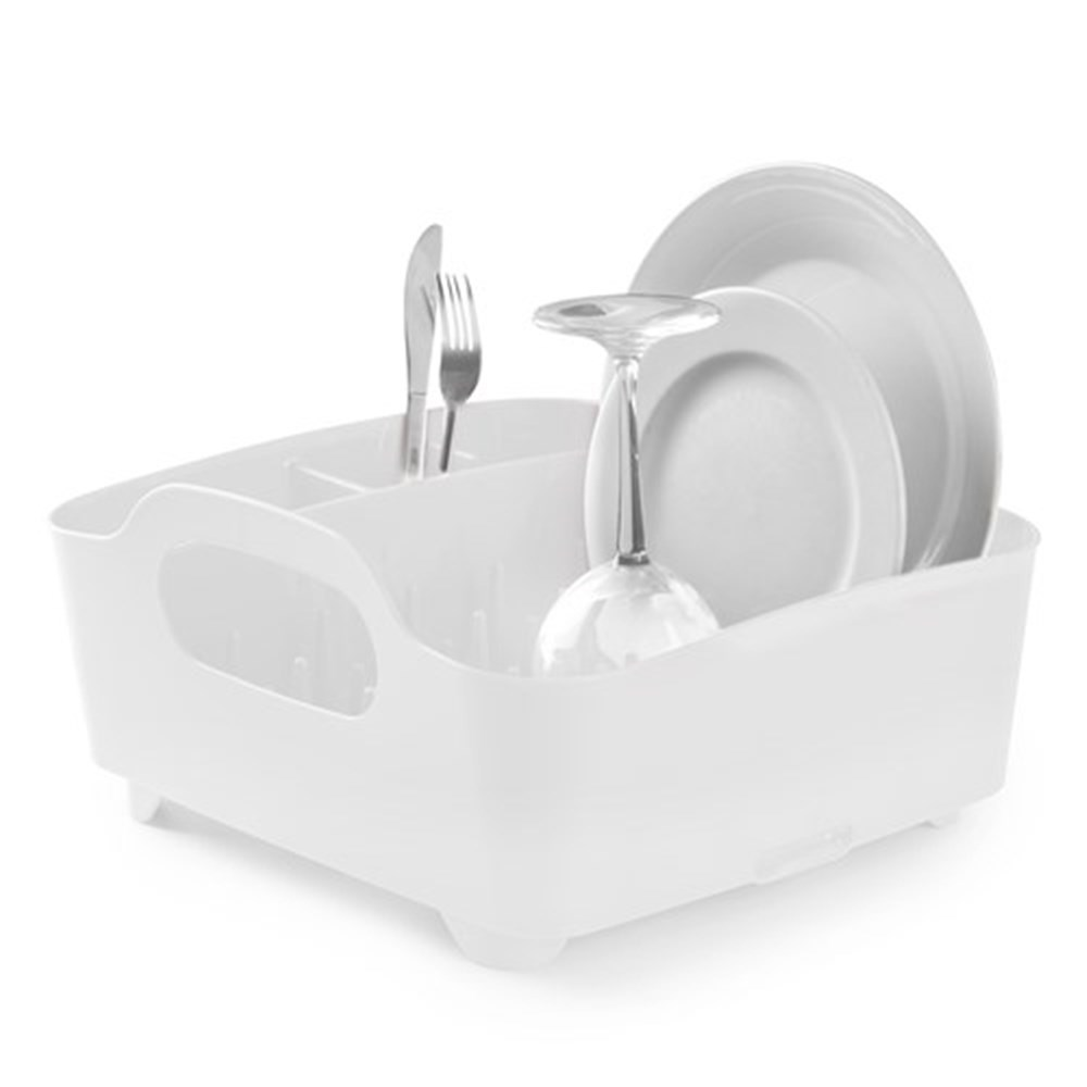Umbra Tub Dish Rack White