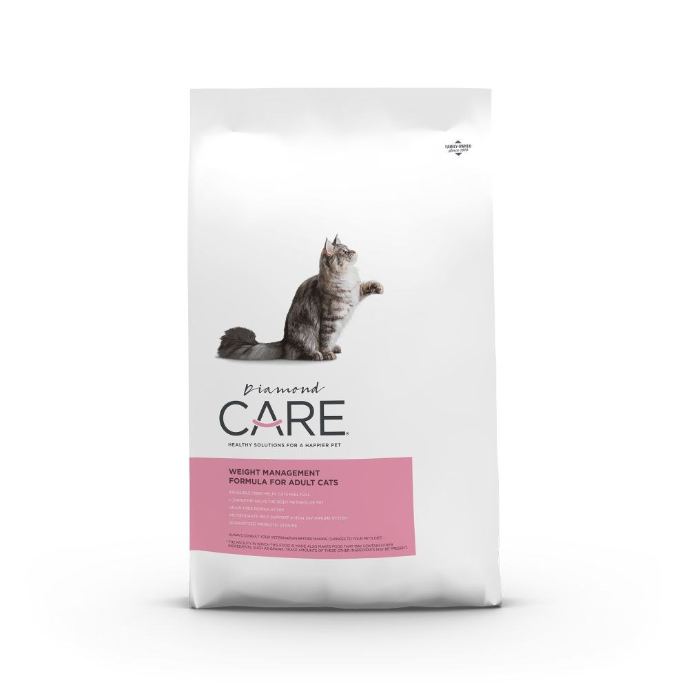 Diamond Care Weight Management Adult Cat Food 2.7kg
