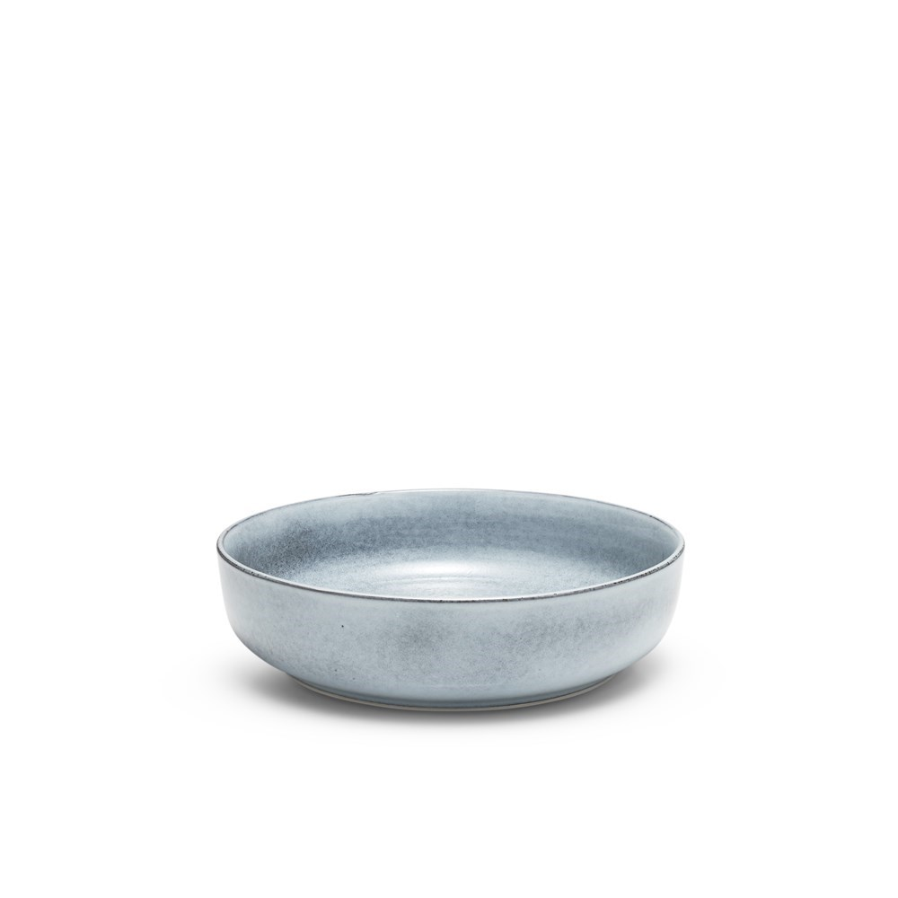 Salt & Pepper Relic Serving Bowl 28cm Blue