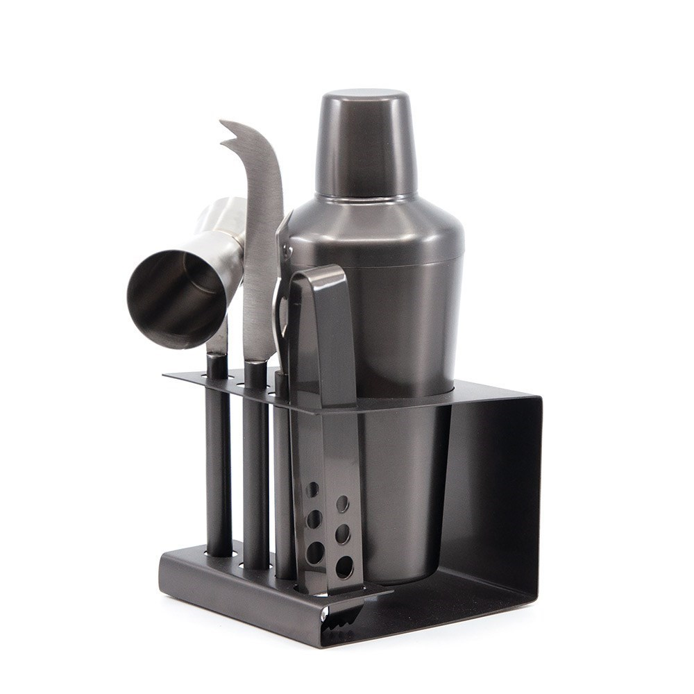 Salt & Pepper Penn Stainless Steel 6 Piece Cocktail Set