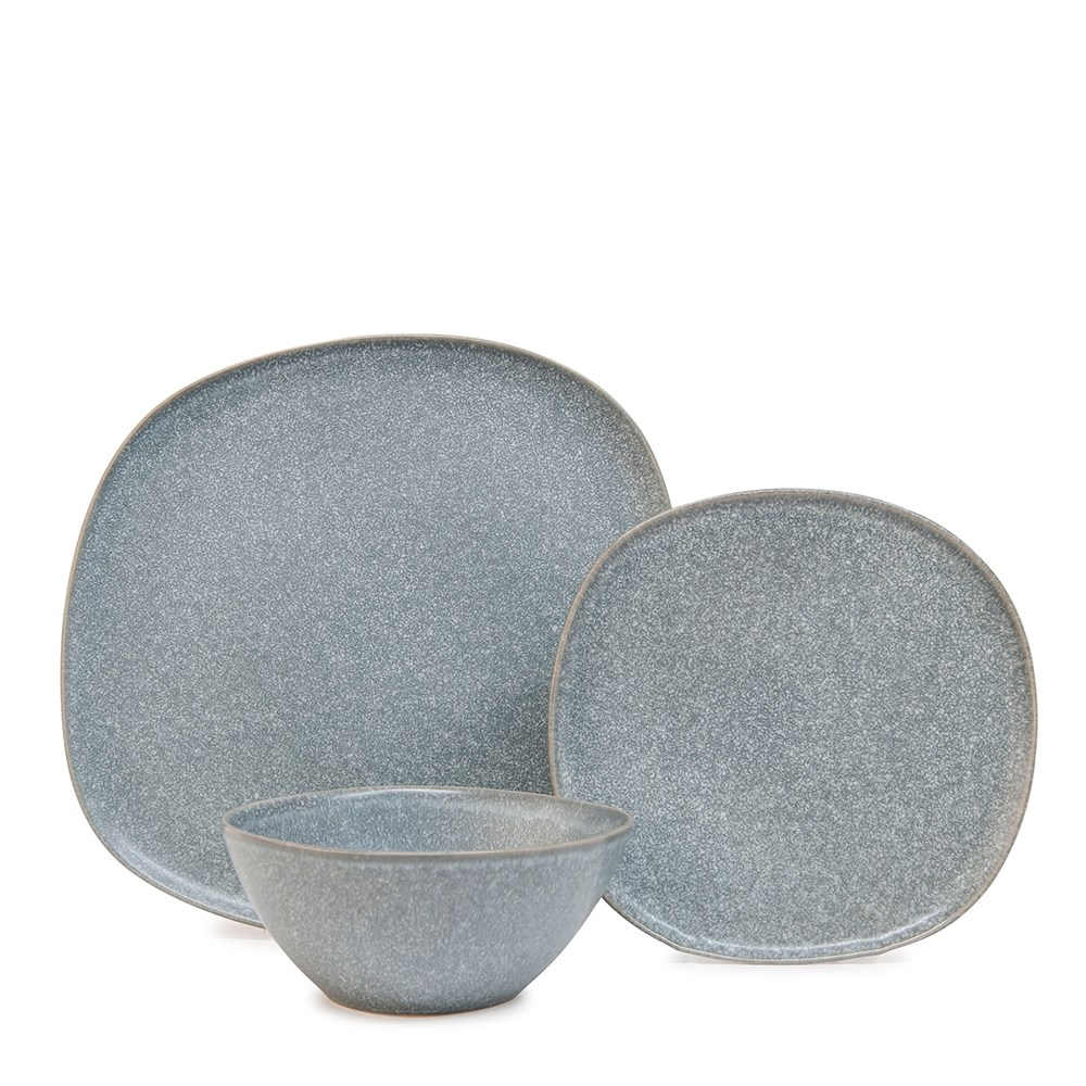 Salt & Pepper Arch 12 Piece Dinner Set Blue