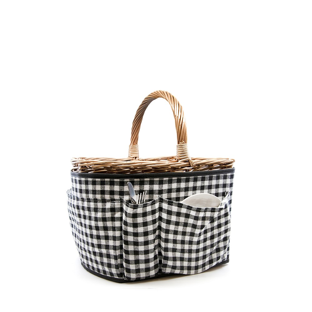 Salt & Pepper Picnic Basket Set