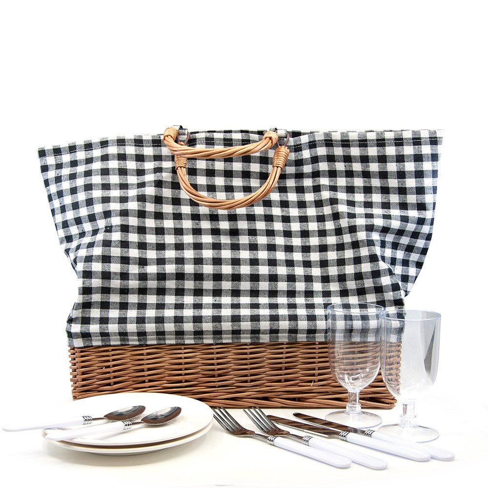 Salt & Pepper Picnic Tote Bag Set
