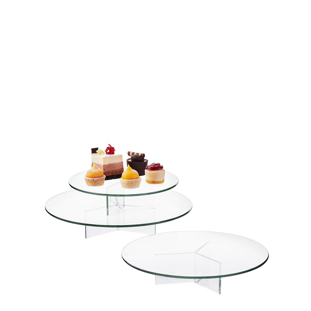 Salt & Pepper Vaso 3 -Piece Cake Stand Set