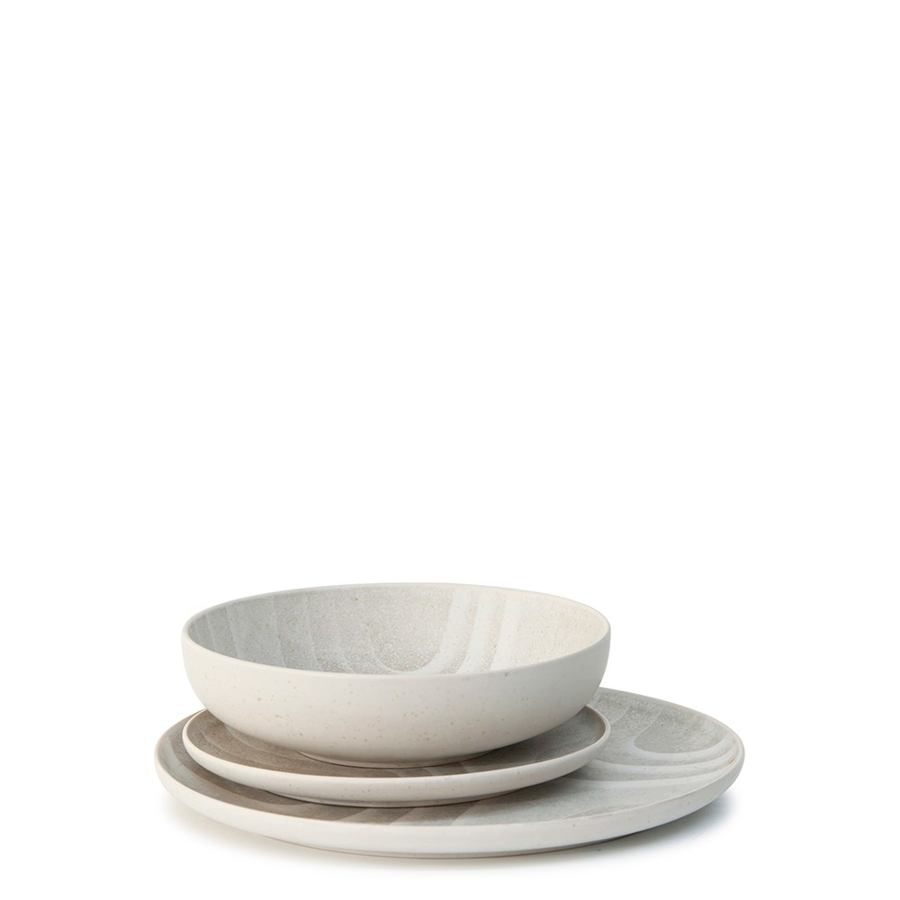 Salt & Pepper Onda Dinner Set 12- Pieces