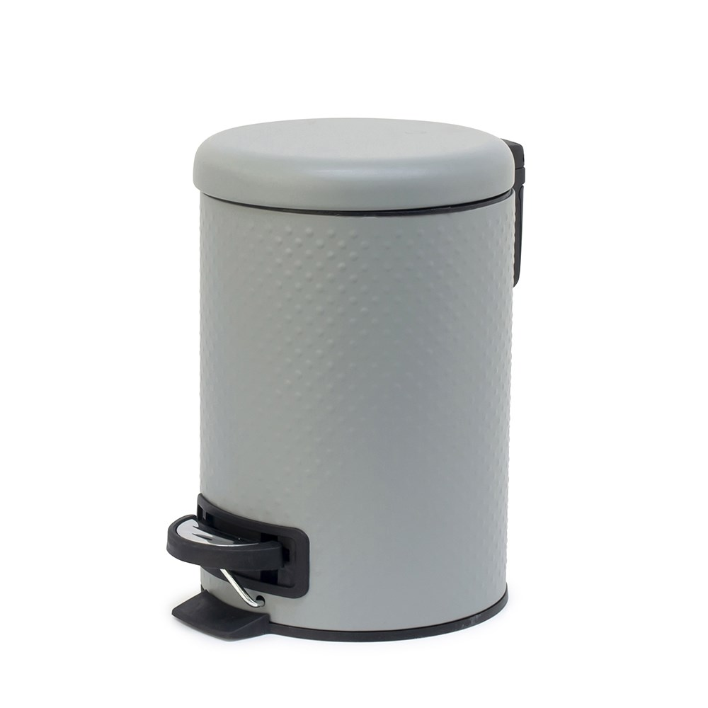 Salt & Pepper Spot Pedal Bin 3L Cloud