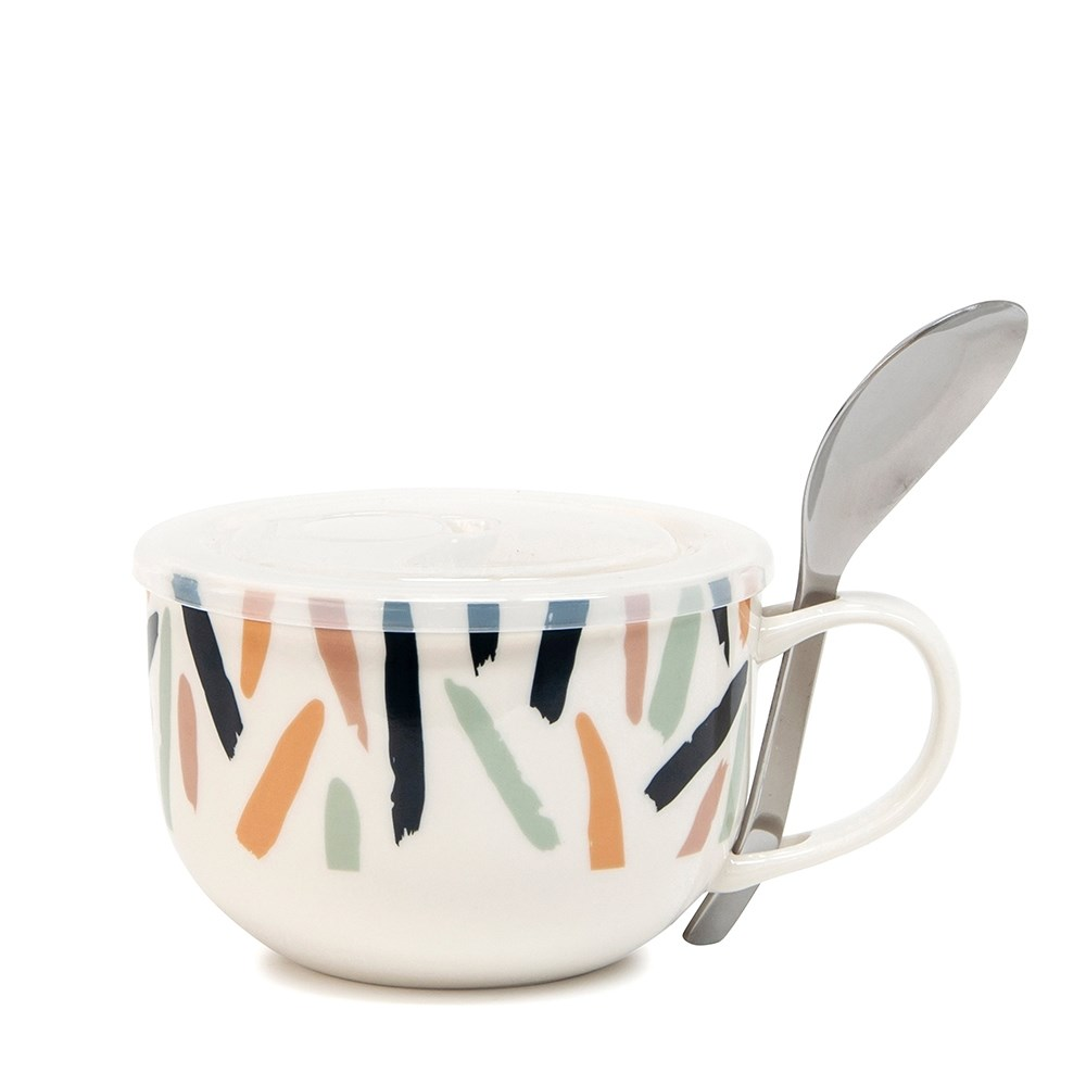 Salt & Pepper Lunch2Go Scribe Soup Mug with Spoon 520ml
