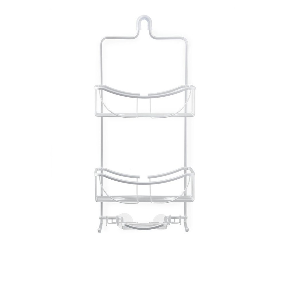 Better Living Venus 3 Tier Hanging Shower Caddy Aluminium Grey