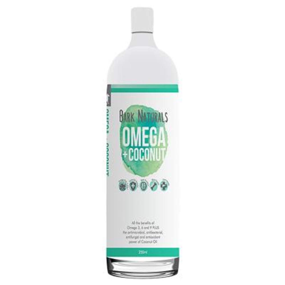Bark Naturals Omega & Coconut Oil 250ml